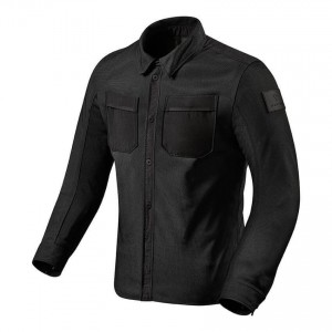 Overshirt REVIT Tracer Air μαύρο