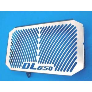 """Προστατευτικό ψυγείου (σίτα) Suzuki """"DL 650"""" V-Strom -11 ασημί"""