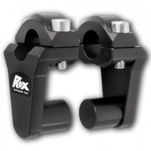 Αποστάτες τιμονιού ROX 50 mm για τιμόνια Ø22 mm μαύροι