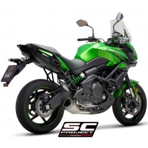 Σύστημα εξάτμισης 2 σε 1 SC-Project Kawasaki Versys 650 17-