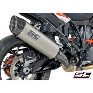 Τελικό εξάτμισης SC-Project Adventure KTM 1090 Adventure/R τιτάνιο-carbon