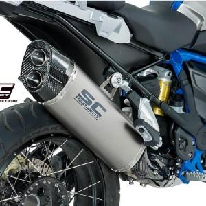 Τελικό εξάτμισης SC-Project Adventure BMW R 1200 GS/Adv. LC 17- τιτάνιο-carbon