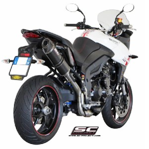 Τελικό εξάτμισης carbon look SC-Project Triumph Tiger 1050 Sport 13-