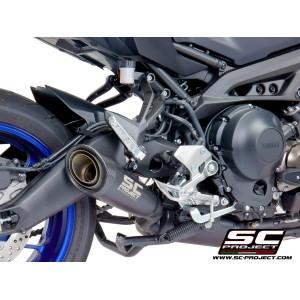 Σύστημα εξάτμισης 3 σε 1 SC-Project Yamaha MT-09 Tracer/GT 17- μαύρο ματ