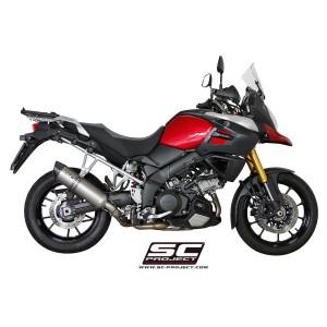 Τελικό εξάτμισης τιτανίου SC-Project Suzuki DL 1000 V-Strom 14-