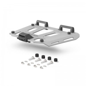 Πιάτο αλουμινίου SHAD για βαλίτσες TERRA/SH58X/SH59X ασημί