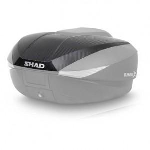 Καπάκι βαλίτσας SHAD SH58X carbon look