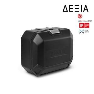 Πλαϊνή βαλίτσα αλουμινίου SHAD TERRA TR36 36 lt. (δεξιά) μαύρη