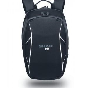 """Τσάντα πλάτης ημίσκληρη SHAD E83 με χώρο για κράνος και laptop 15"""" 17 lt."""