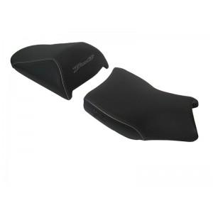 Σέλα SHAD Comfort Suzuki GSF 650-1250 N Bandit 08-12 γκρι ραφές