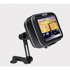 """Αδιάβροχη θήκη GPS 4.3"""" με βάση καθρέπτη SHAD"""