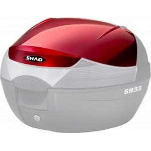 Καπάκι βαλίτσας SHAD SH33 -2015 κόκκινο