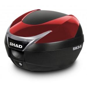 Καπάκι βαλίτσας SHAD SH34 κόκκινο