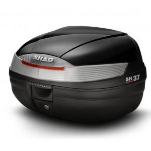 Καπάκι βαλίτσας SHAD SH37 μαύρο μεταλλικό