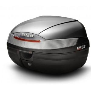 Καπάκι βαλίτσας SHAD SH37 ασημί