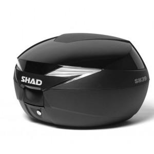 Καπάκι βαλίτσας SHAD SH39 μαύρο μεταλλικό