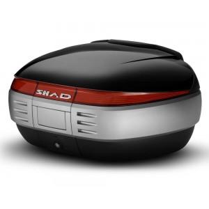 Καπάκι βαλίτσας SHAD SH50 μαύρο μεταλλικό