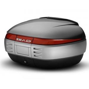 Καπάκι βαλίτσας SHAD SH50 ασημί