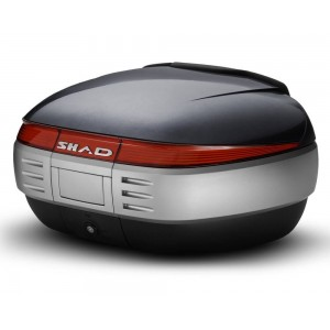 Καπάκι βαλίτσας SHAD SH50 τιτάνιο