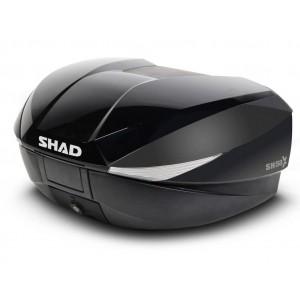 Καπάκι βαλίτσας SHAD SH58X μαύρο μεταλλικό