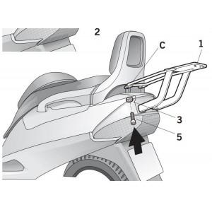 Βάση topcase SHAD Suzuki Burgman 250-400 -00