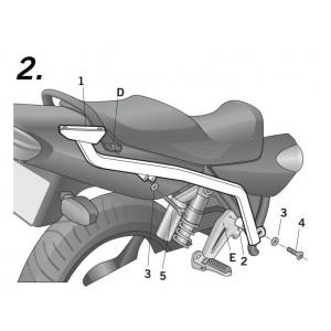 Βάση topcase SHAD Yamaha XJR 1300 07-14