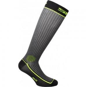 Κάλτσες SIX2 Long 2 (λεπτές) fluo κίτρινες
