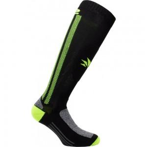 Κάλτσες Six2 Mot 2 carbon μακριές κίτρινες