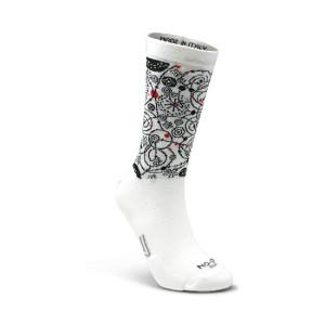 Κάλτσες SIX2 NO-ON Fantasy cerchi
