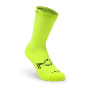 Κάλτσες SIX2 NO-ON Fantasy κίτρινο fluo