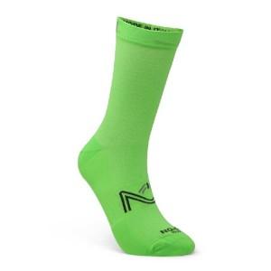 Κάλτσες SIX2 NO-ON Fantasy πράσινο fluo