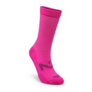 Κάλτσες SIX2 NO-ON Fantasy ροζ fluo