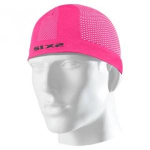 Σκουφάκι SIX2 carbon ροζ