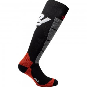 Κάλτσες Six2 Speed carbon μακριές μαύρες