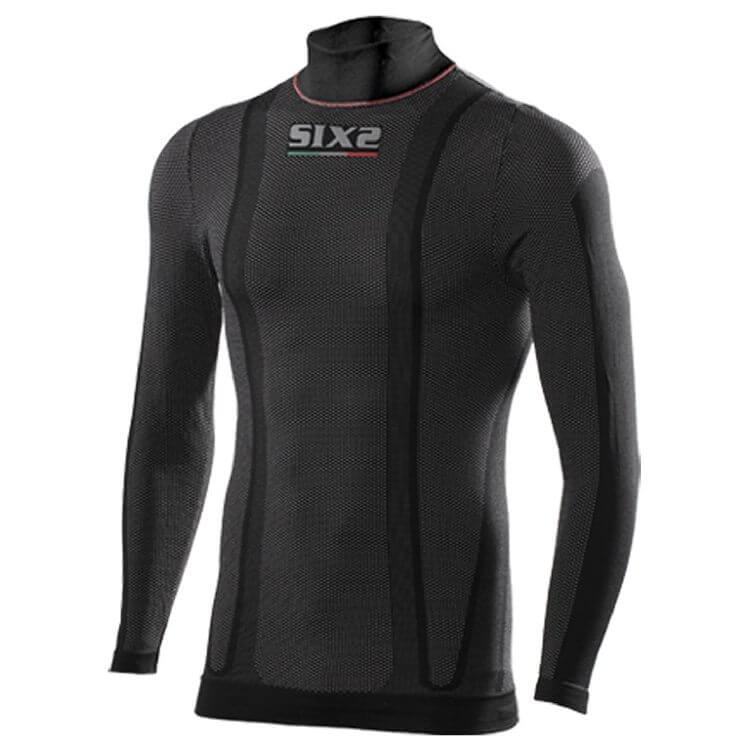 Ισοθερμική μπλούζα ζιβάγκο SIX2 thermo carbon (1ου επιπέδου)