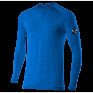 Ισοθερμική μπλούζα SIX2 carbon merino μπλε (1ου επιπέδου)