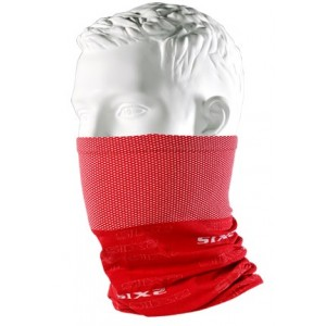 Neckwarmer SIX2 carbon κόκκινο