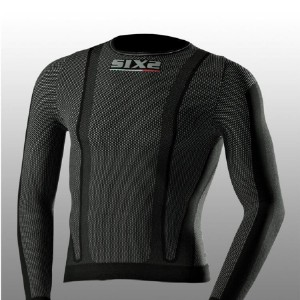 Μακρυμάνικη μπλούζα SIXS από carbon