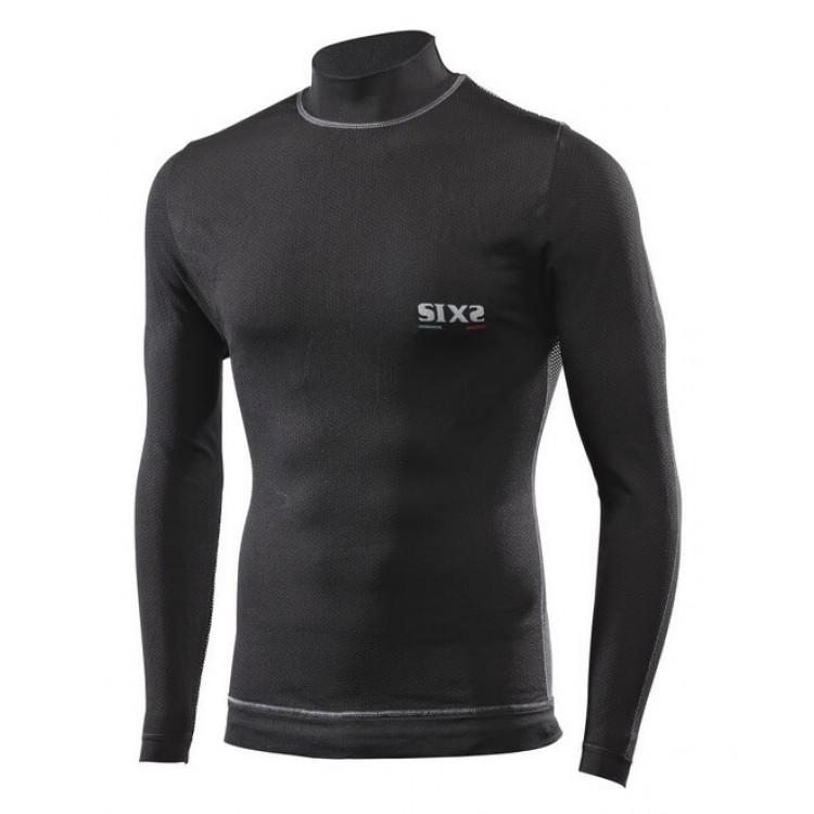 Ισοθερμική μπλούζα ζιβάγκο SIX2 TS4 PLUS windshell carbon  (1ου επιπέδου)