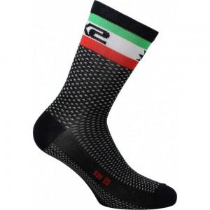 Κάλτσες SIX2 carbon κοντές (λεπτές) Italia