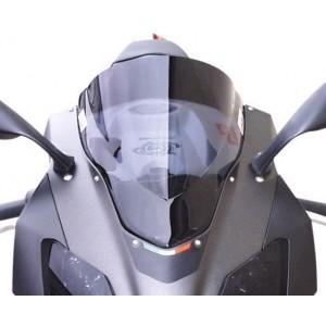 Windscreen Double Bubble SkidMarx Aprilia RSV 1000 04-08 ελ. φιμέ