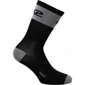 Κάλτσες SIX2 carbon κοντές (λεπτές) γκρι