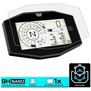 Nano glass για προστασία οργάνων Suzuki V-strom 1050/XT (σετ 2 ultra clear)