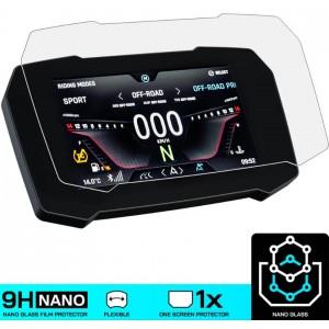 Nano glass για προστασία TFT οθόνης Triumph Tiger 900 GT/Rally/Pro (σετ 2 ultra clear)