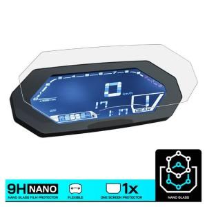 Nano glass για προστασία οργάνων Yamaha MT-07 Tracer 20 (σετ 2 ultra clear)