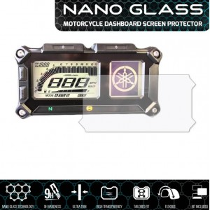 Nano glass για προστασία οργάνων Yamaha XT 1200 Z Super Tenere 13- (σετ 2 ultra clear)