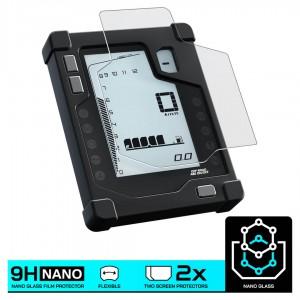 Nano glass για προστασία οργάνων Yamaha Tenere 700 (σετ 2 ultra clear)