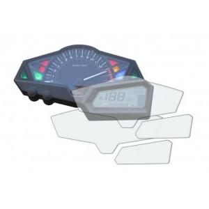 Φιλμ προστασίας οργάνων Kawasaki Z 300 (σετ 2 Ultra Clear)