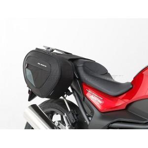 Βάσεις και σαμάρια SW-Motech Blaze 2 x 14/21 lt. Honda NC 700-750 S/X