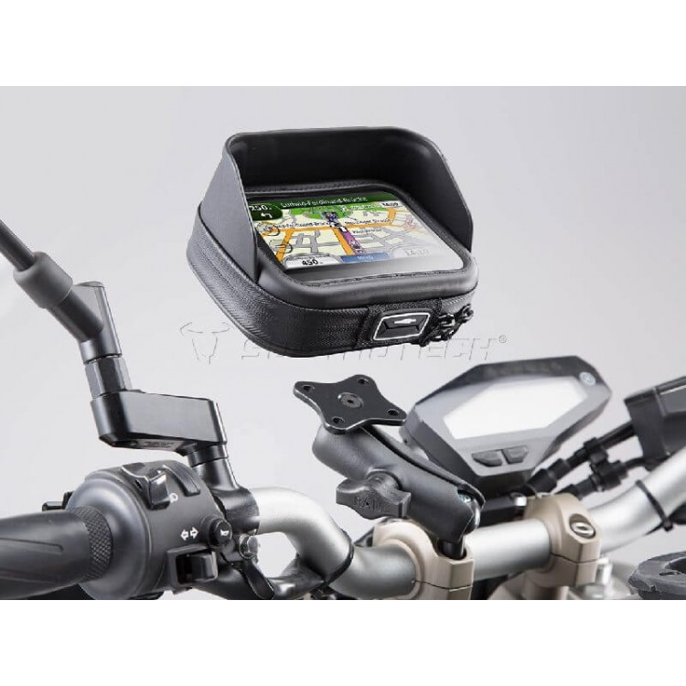 Universal σετ βάσης με θήκη GPS - Smartphone SW-Motech L